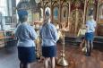 Сотрудники регионального УФСИН посетили храм святого благоверного князя Александра Невского