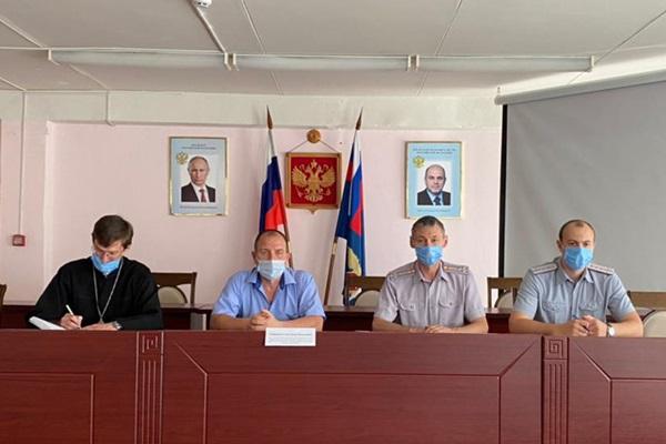 В региональном УФСИН обсудили вопросы по профилактике распространения экстремизма и терроризма