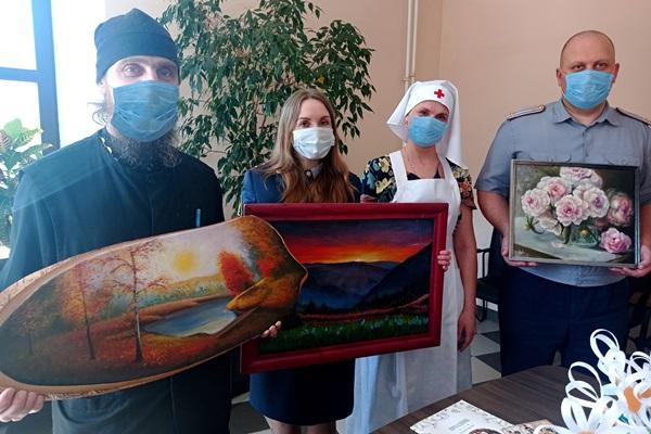 Рыбинская колония приняла участие в благотворительной акции «Белый цветок»